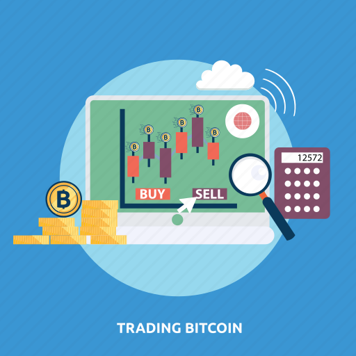 bitcoin, coin, cryptocurrencies, finance, market, money, trading icon