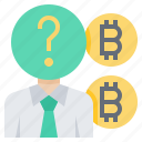 anonymity, anonymous, bitcoin, cashless, coin, cryptocurrency, currency icon