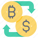 bitcoin, cashless, cryptocurrency, currency, dollar, exchange