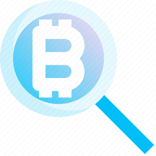 Analytics, bitcoin, cryptocurrency, finance, monetary, money, search icon - Download on Iconfinder