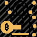 digital, encryption, key, lock, security icon