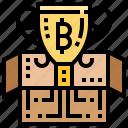 award, block, reward, trophy, unboxed