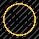 coin, blockchain, mining, monero, cryptocurrency icon