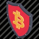 bitcoin protection, bitcoin safety, blockchain security, cryptocurrency protection, cryptocurrency savings icon