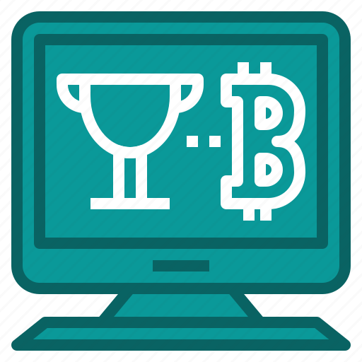 bitcoin, cryptocurrency, mining, reward, transaction icon
