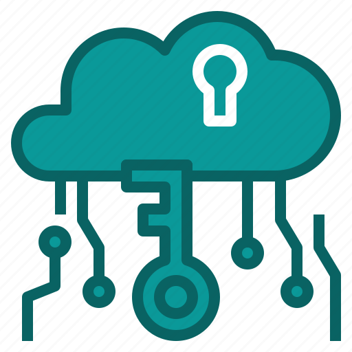 cloud, data, safe, security icon