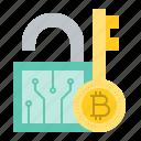 blockchain, bitcoin, cryptocurrency, digital currency, key, lock
