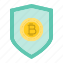 badge, bitcoin, blockchain, cryptocurrency, digital currency icon