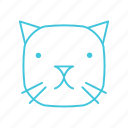 animals, cat, characters, cute, kitty, nature, pets icon