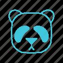 animals, bear, characters, cute, nature, panda, pets icon