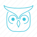 animals, characters, cute, forest animal, nature, owl, pets icon