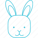 animals, bunny, characters, cute, nature, pets, rabbit icon