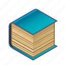 blue, book, cover, in, the, tome, volume icon