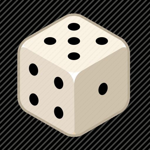 chance, dice, draw, gambling, play, random, risk icon