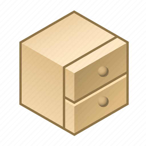 chest, cupboard, decor, drawer, furnishing, furniture, home icon