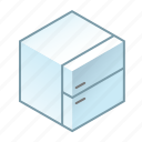 freezer, freezing, fresh, fridge, frosted, icebox, refrigerator icon
