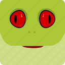 frog, halloween icon