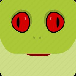 frog, halloween icon