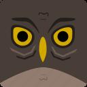owl, halloween icon