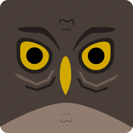 halloween, owl icon