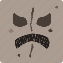 halloween, scarecrow icon