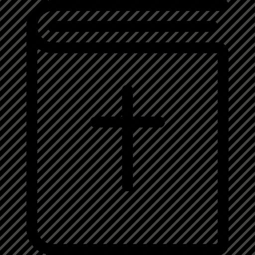 1, bible, religion icon