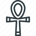 ankh, civilization, communities, community, culture, egypt, nation icon