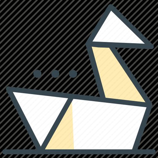 asian, culture, folding, oragami, paper icon