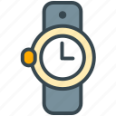 accessory, clothes, culture, time, watch icon