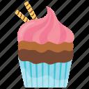 cupcake, small cake, sodapop cupcake, sodapop muffin, sweet cake icon