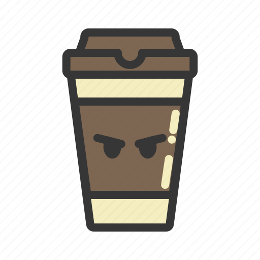 coffee, cup, emoji, emoticon, emotion, expression icon