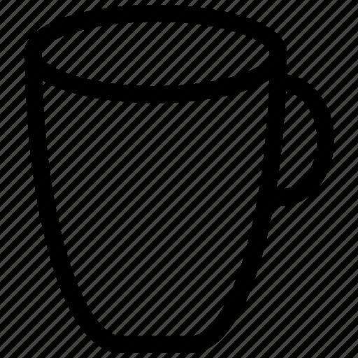 beverage, coffee, cup, drink, mug, water icon