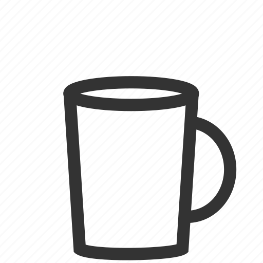 cup, empty, mug icon