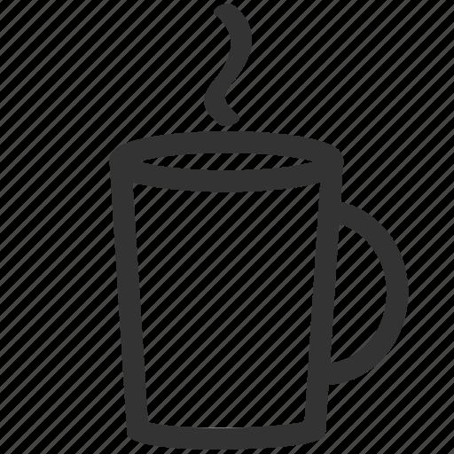 coffee, drink, hot, hot chocolate, hot coco, mug icon