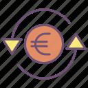 euro, exchange