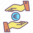 give, loan