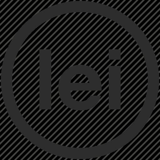 Ban Leu Romanian Ron Icon Icon Search Engine