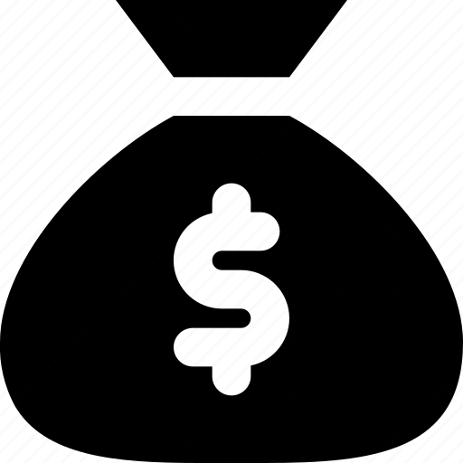 bag, dollar icon