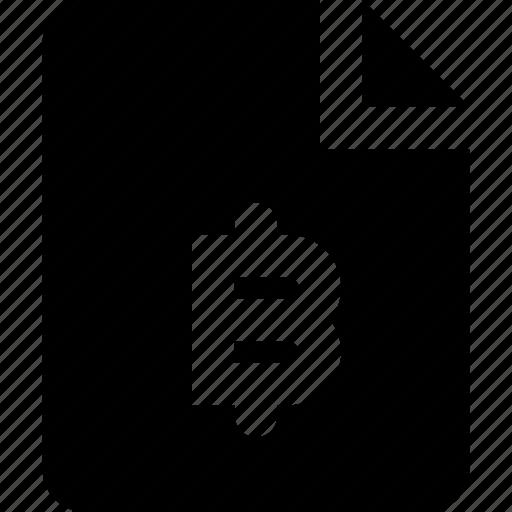 bitcoin, file icon