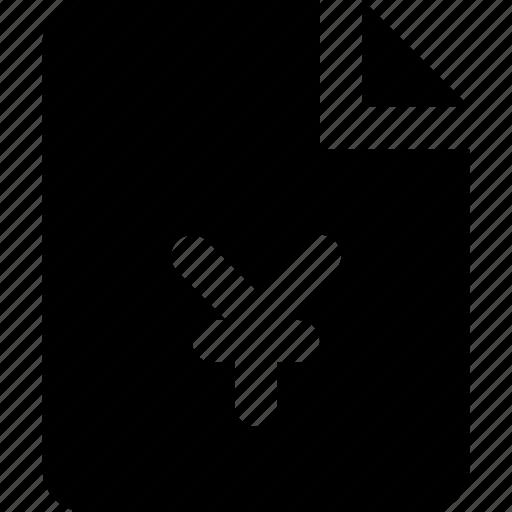 file, yen icon