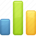 business report, chart, graph, report icon