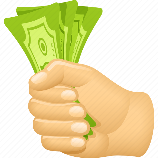 Bills, buying, cash, hand, money, paying icon - Download on Iconfinder