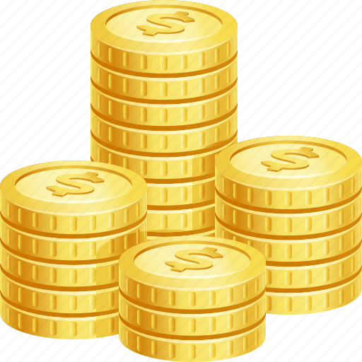 Cash, coin stack, coins, money, stack icon - Download on Iconfinder