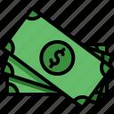 business, cash, dollar, finance, money, payment icon