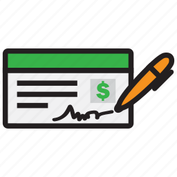 bank, banking, cheque, credit, debit, money, payment icon