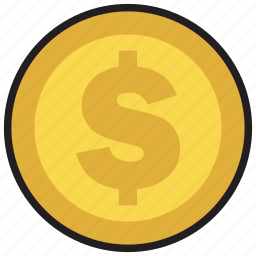 cash, coin, currency, dollar, finance, money icon