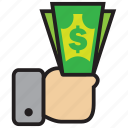 atm, bank, cash, credit, debit, dollar, money icon