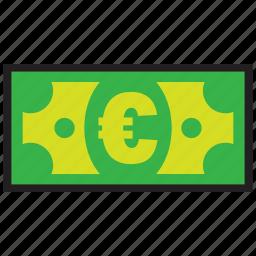 atm, bank, credit, debit, euro, finance, money icon