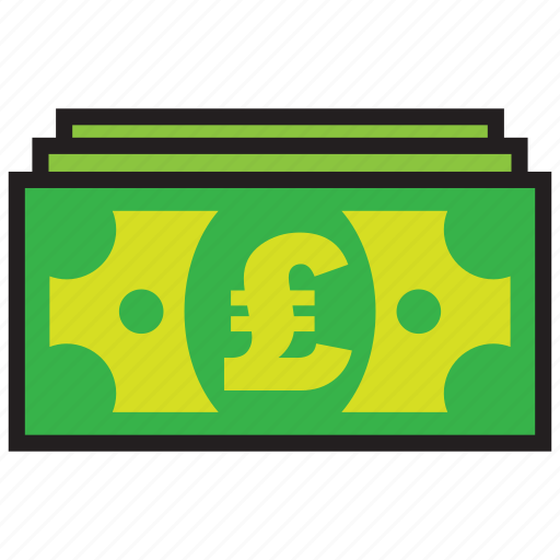 currency, finance, money, pound, sterling icon