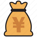 cash, currency, finance, money, yen icon